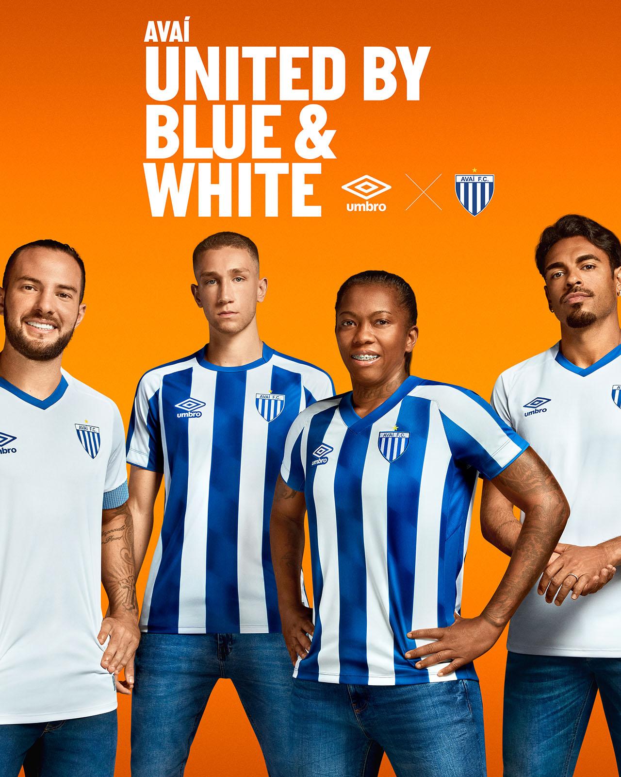 Camisas do Avaí FC 2021 Umbro Reserva
