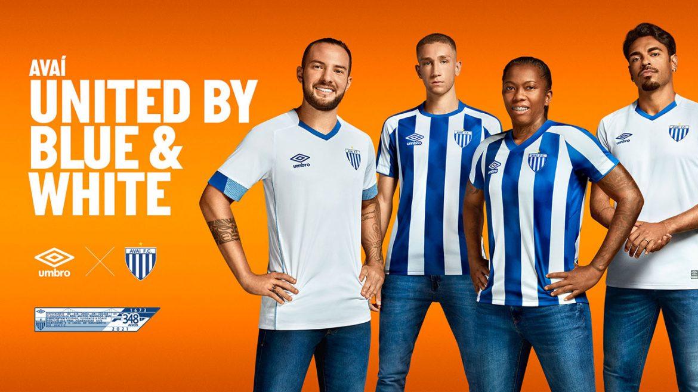 Camisas do Avaí FC 2021 Umbro