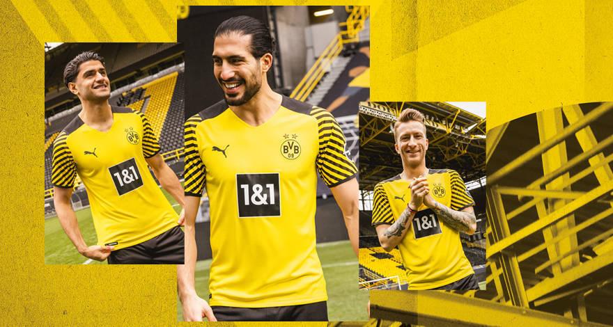 Camisas do Borussia Dortmund 2021-2022 PUMA