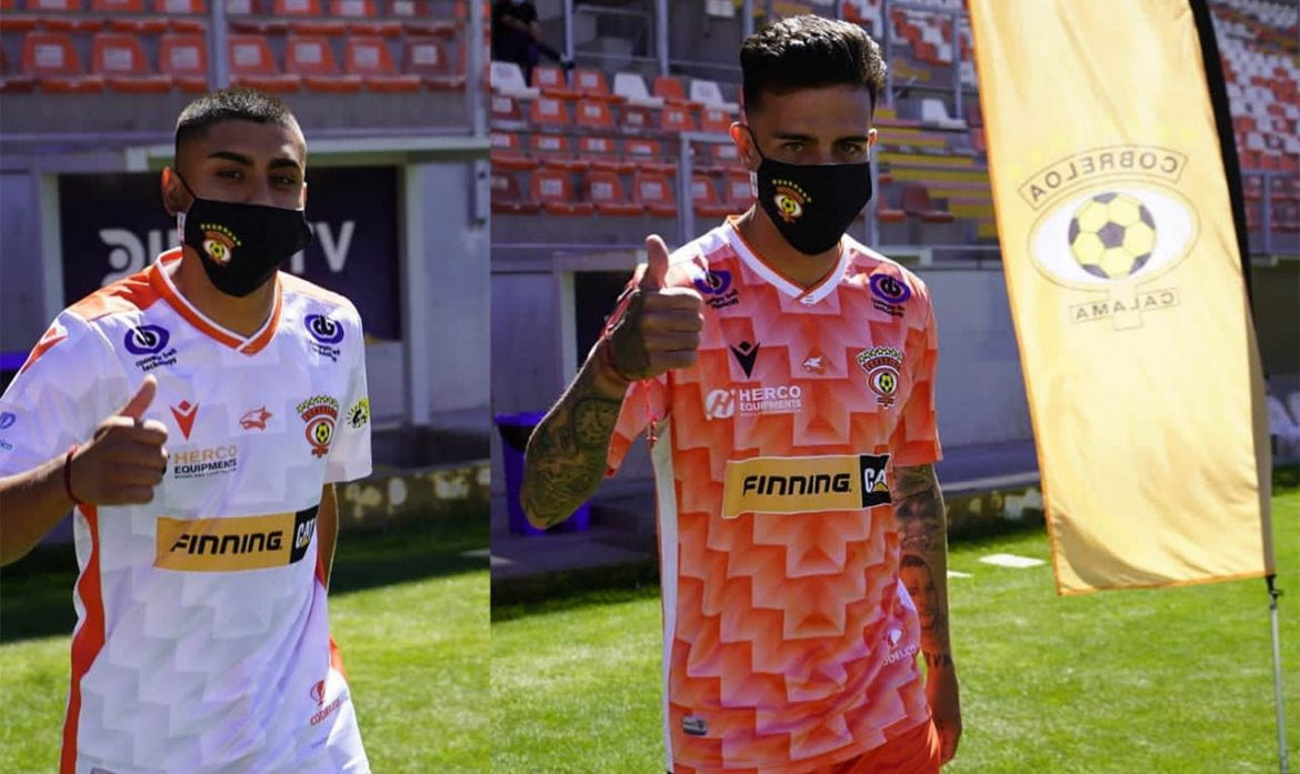 Camisas do Cobreloa 2021 Macron
