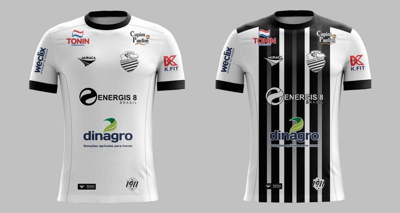 Camisas do Comercial 2021 Muraca Sports