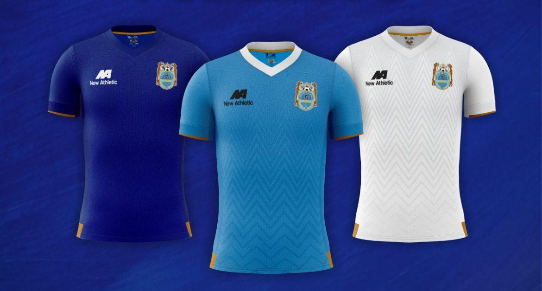 Camisas do Deportivo Binacional 2021 New Athletic a