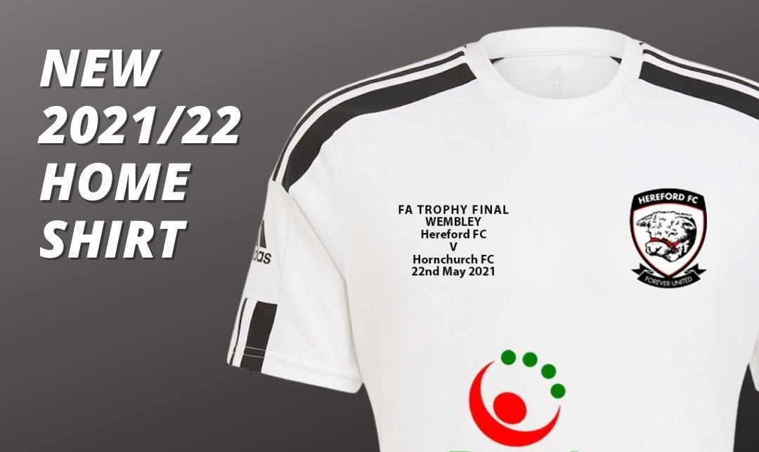 Camisas do Hereford FC 2021-2022 Adidas