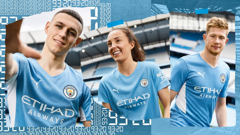 Camisas do Manchester City 2021-2022 PUMA aa