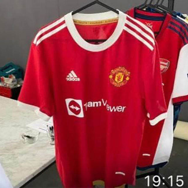 Camisas do Manchester United 2021-2022 Adidas Titular