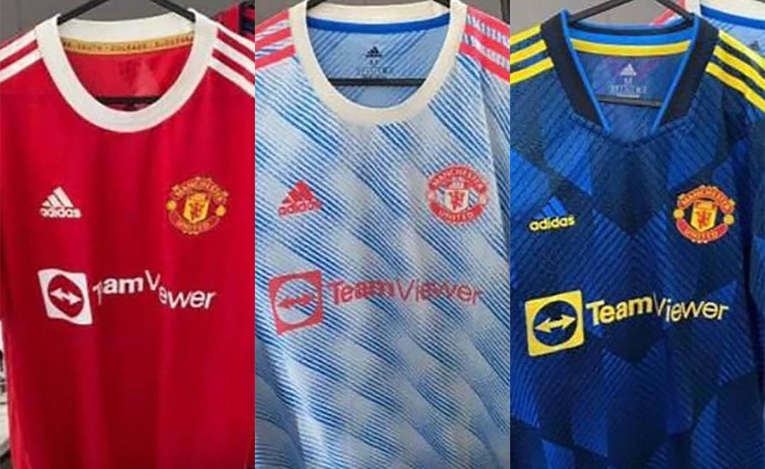 Camisas do Manchester United 2021-2022 Adidas a