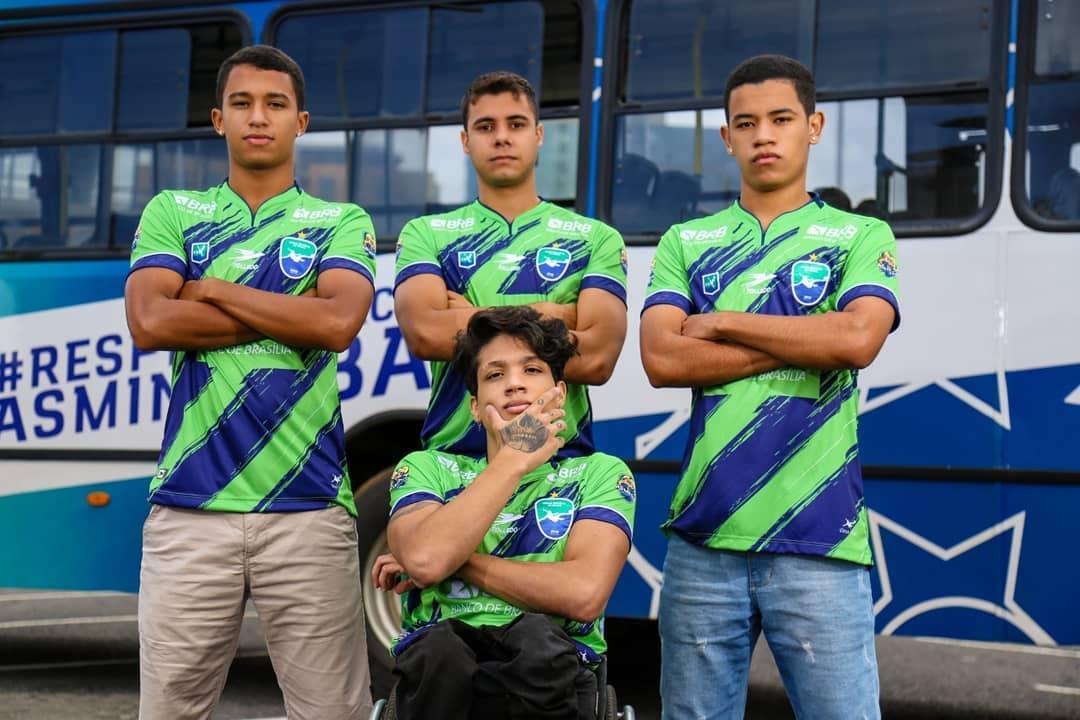 Camisas do Minas Brasília 2021 Tolledo Sports