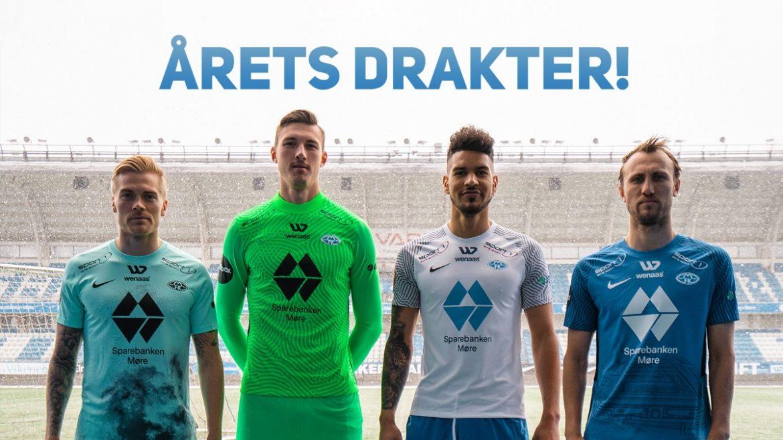 Camisas do Molde FK 2021 Nike