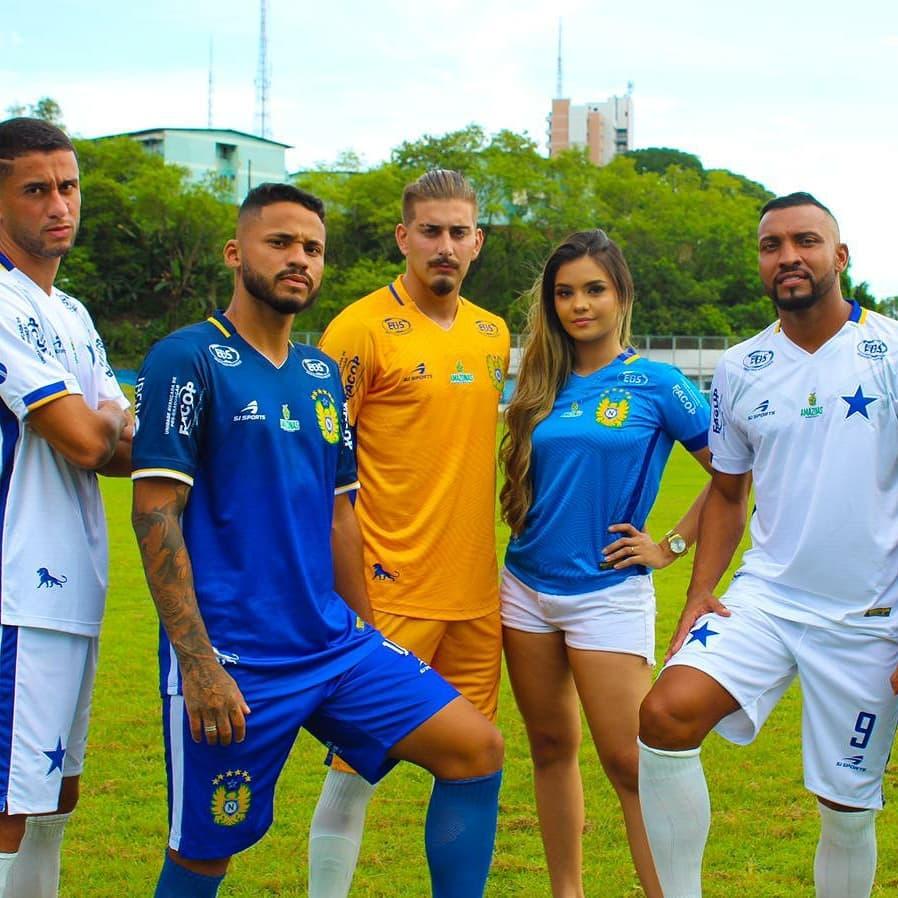 Camisas do Nacional-AM 2021 SJ Sports
