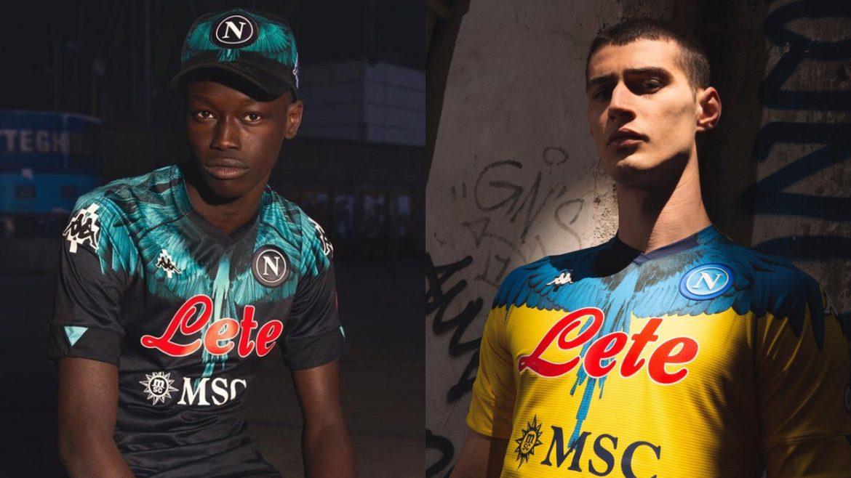 Camisas do Napoli 2021 Kappa x Marcelo Burlon a