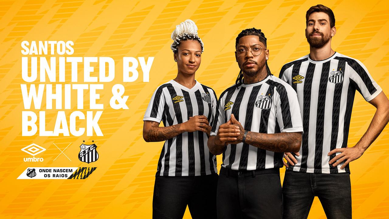 Camisas do Santos FC 2021 Umbro Reserva