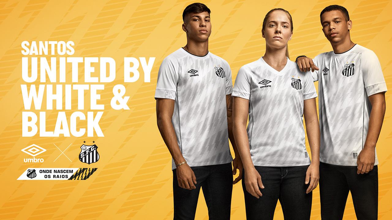 Camisas do Santos FC 2021 Umbro Titular