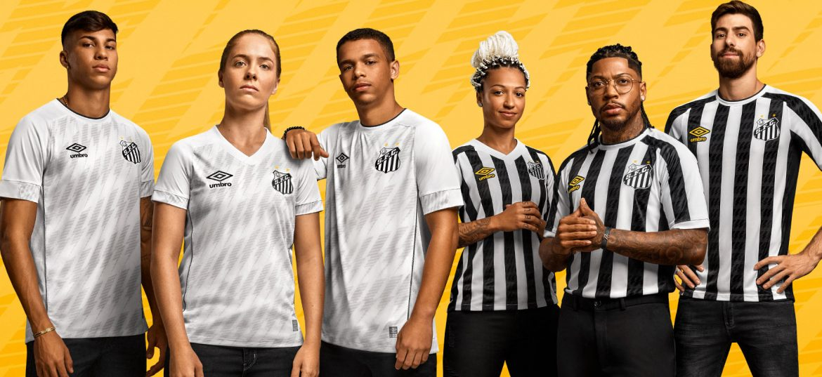 Camisas do Santos FC 2021 Umbro a