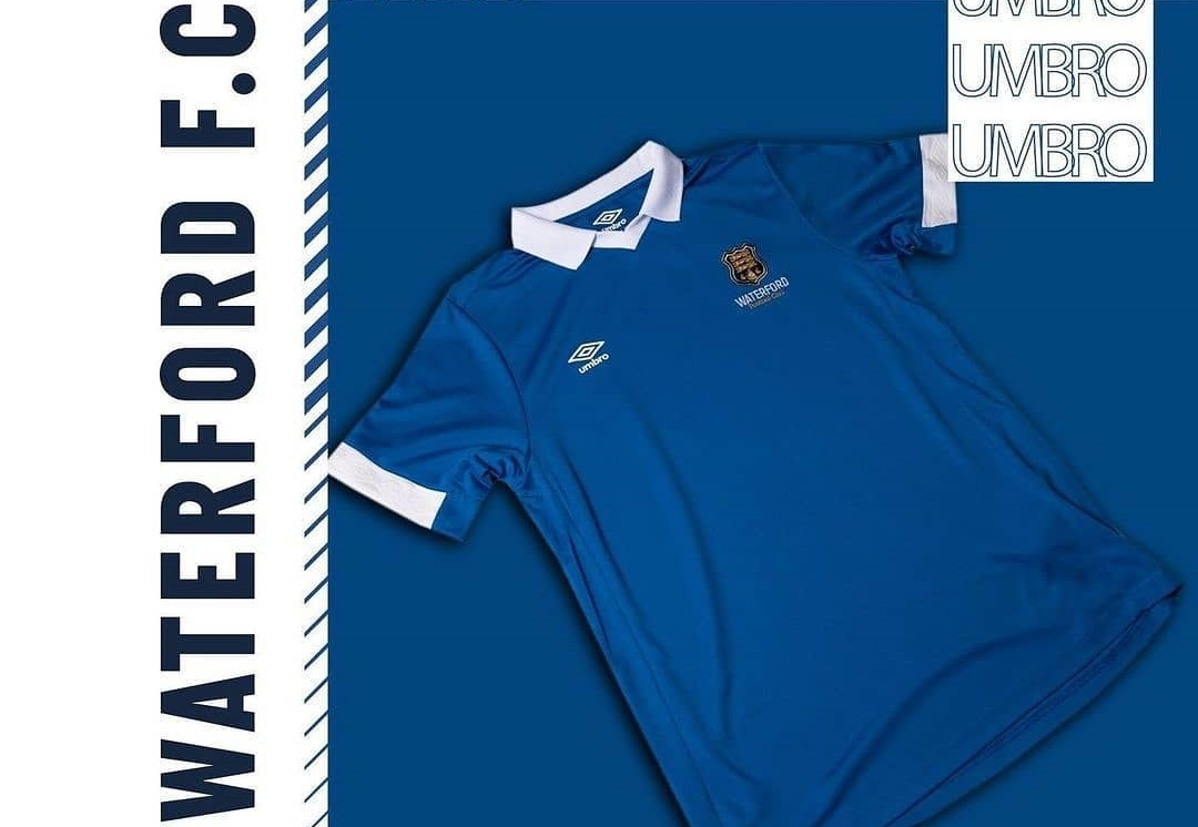 Camisas do Waterford FC 2021 Umbro