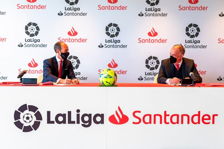 La Liga renova patrocínio com Santander até 2023