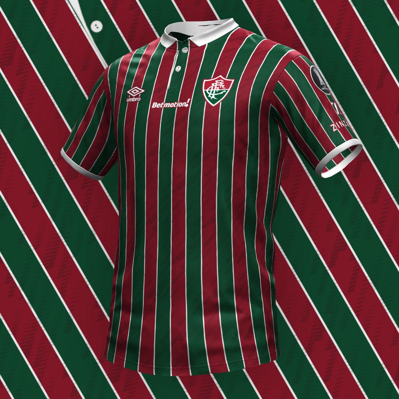 Mockup da Suposta Camisa do Fluminense 2021