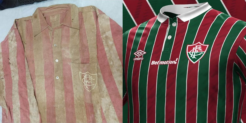 Nova camisa do Fluminense 2021 homenageará primeiro título em 1906