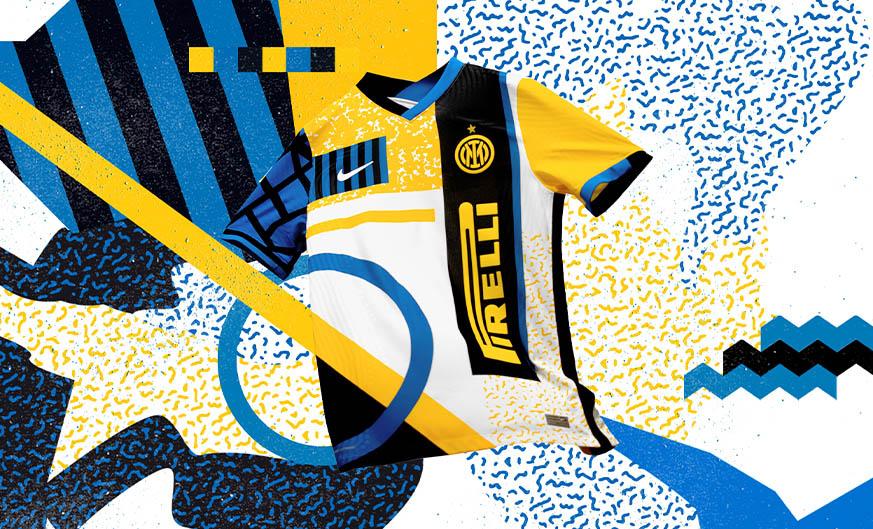 Quarta camisa da Inter de Milão 2020-2021 Nike