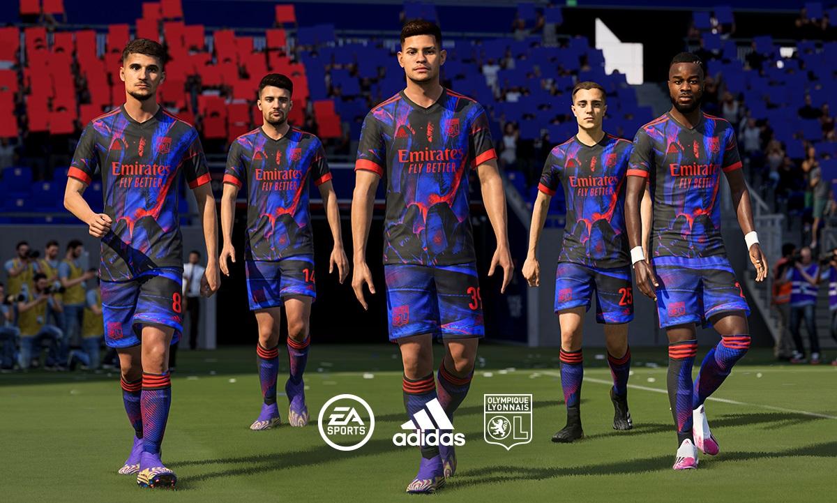 Rio Quarta camisa do Lyon 2020-2021 Adidas