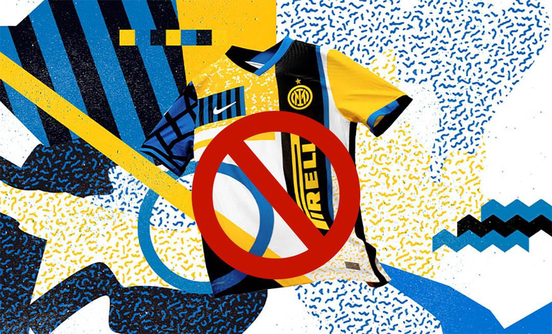 Serie A veta uso de quarta camisa da Inter de Milão