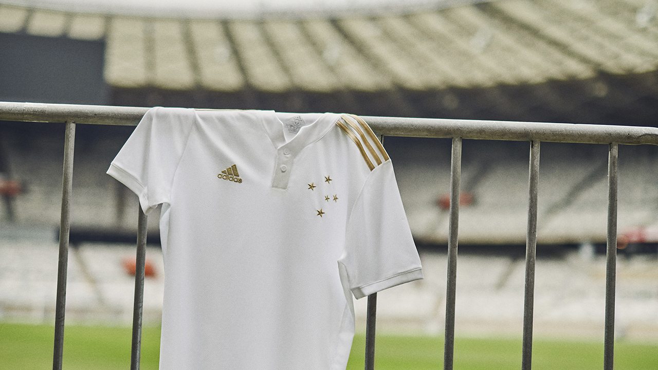 Camisa reserva do Cruzeiro 2021 Adidas (Centenário)