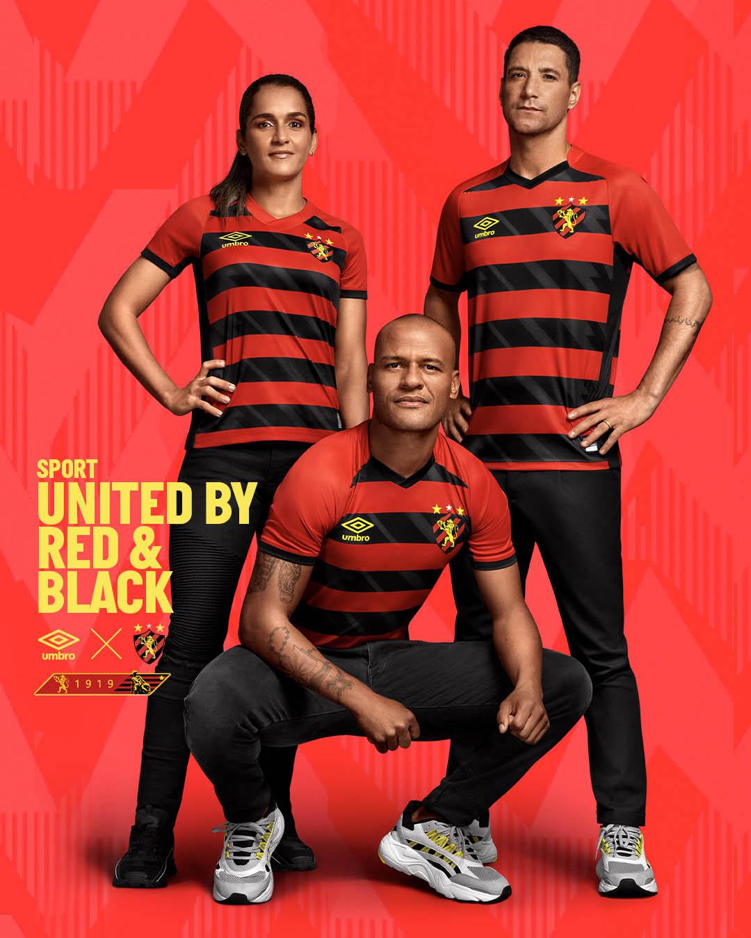 Camisas do Sport Recife 2021-2022 Umbro Titular