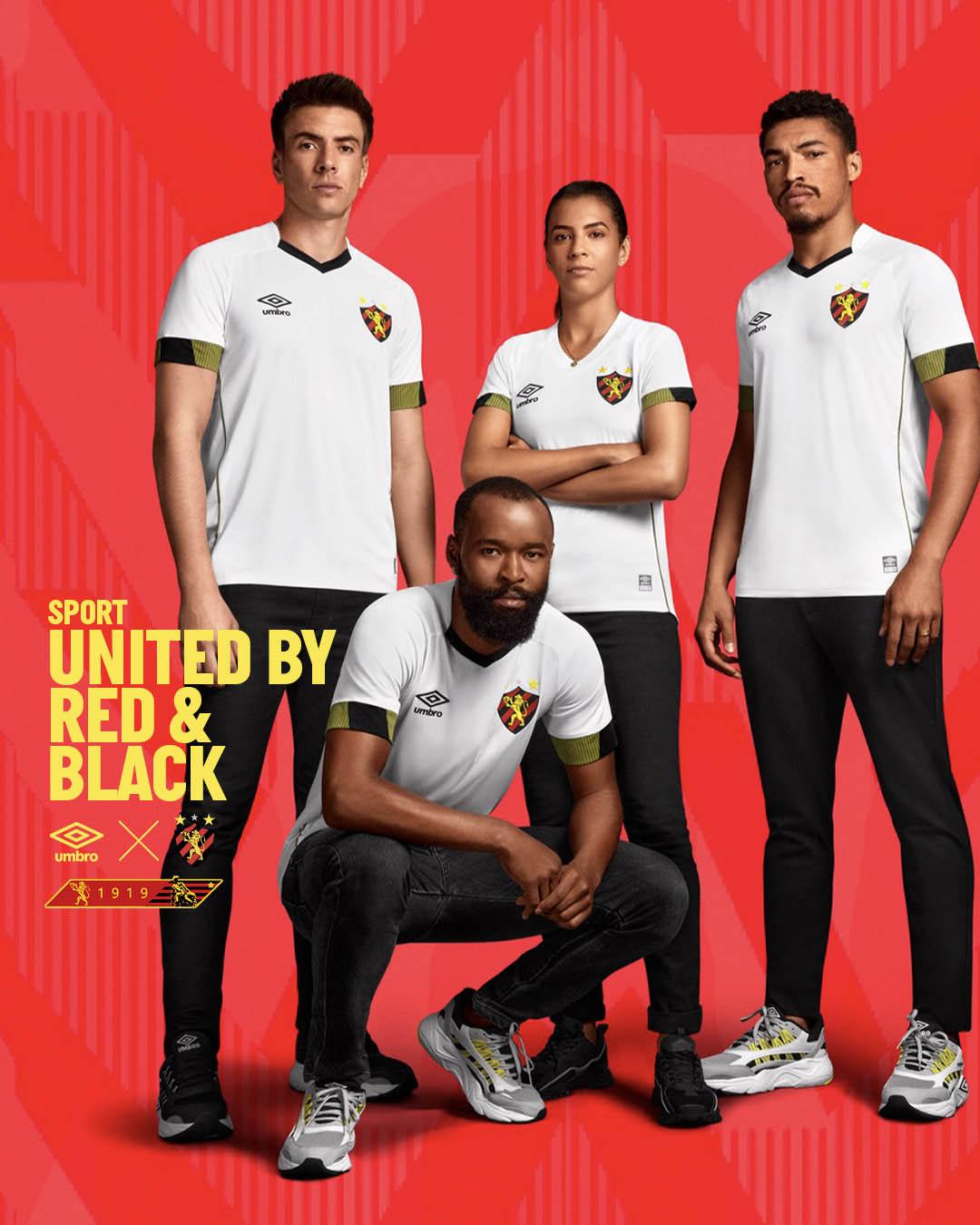 Camisas do Sport Recife 2021-2022 Umbro Reserva
