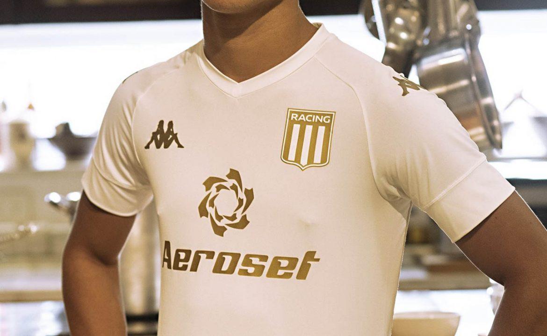 Terceira camisa do Racing Club 2021 Kappa a