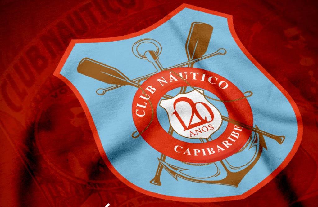 escudo de 120 anos do Náutico a