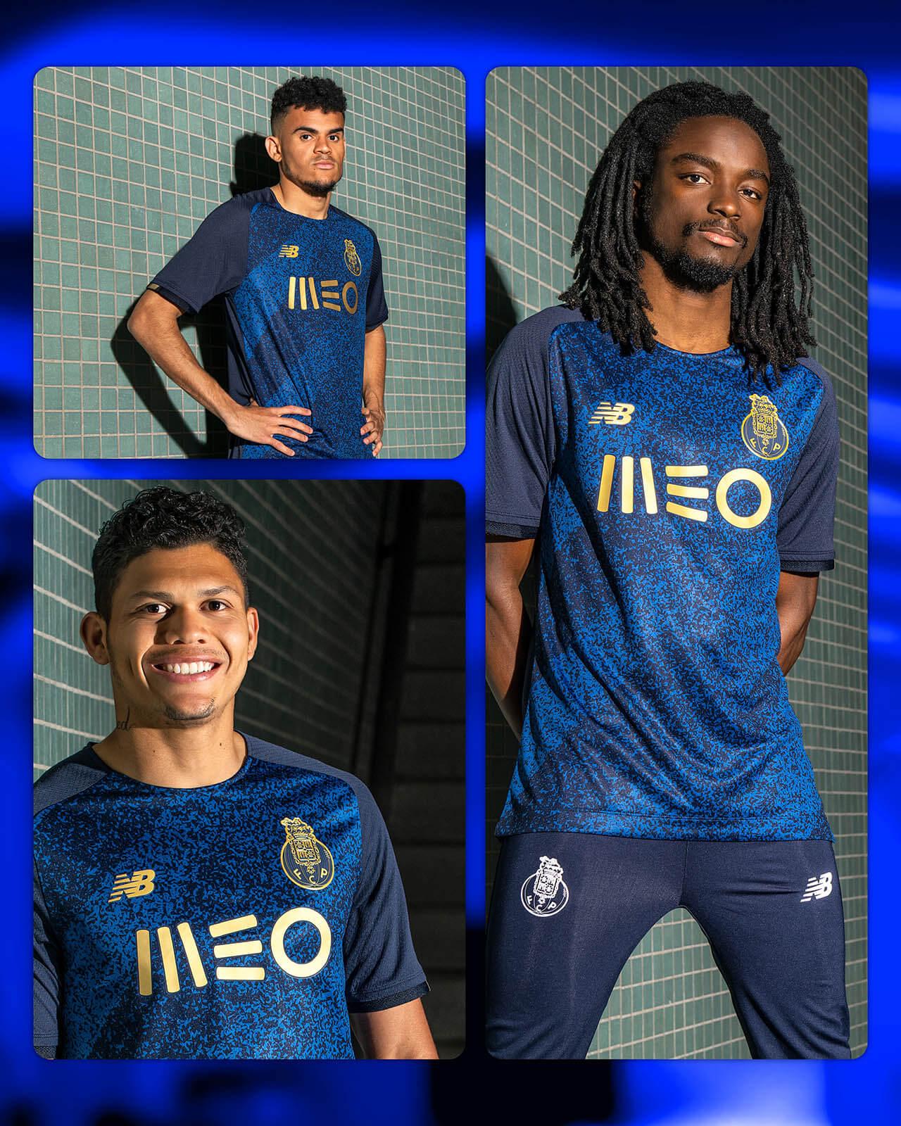 Camisa reserva do FC Porto 2021-2022 New Balance