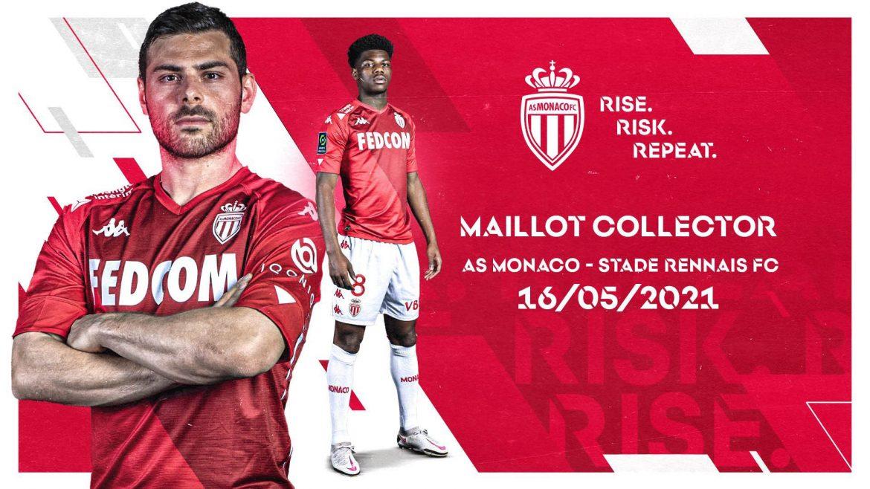 AS Monaco 2021 Colecionador kit