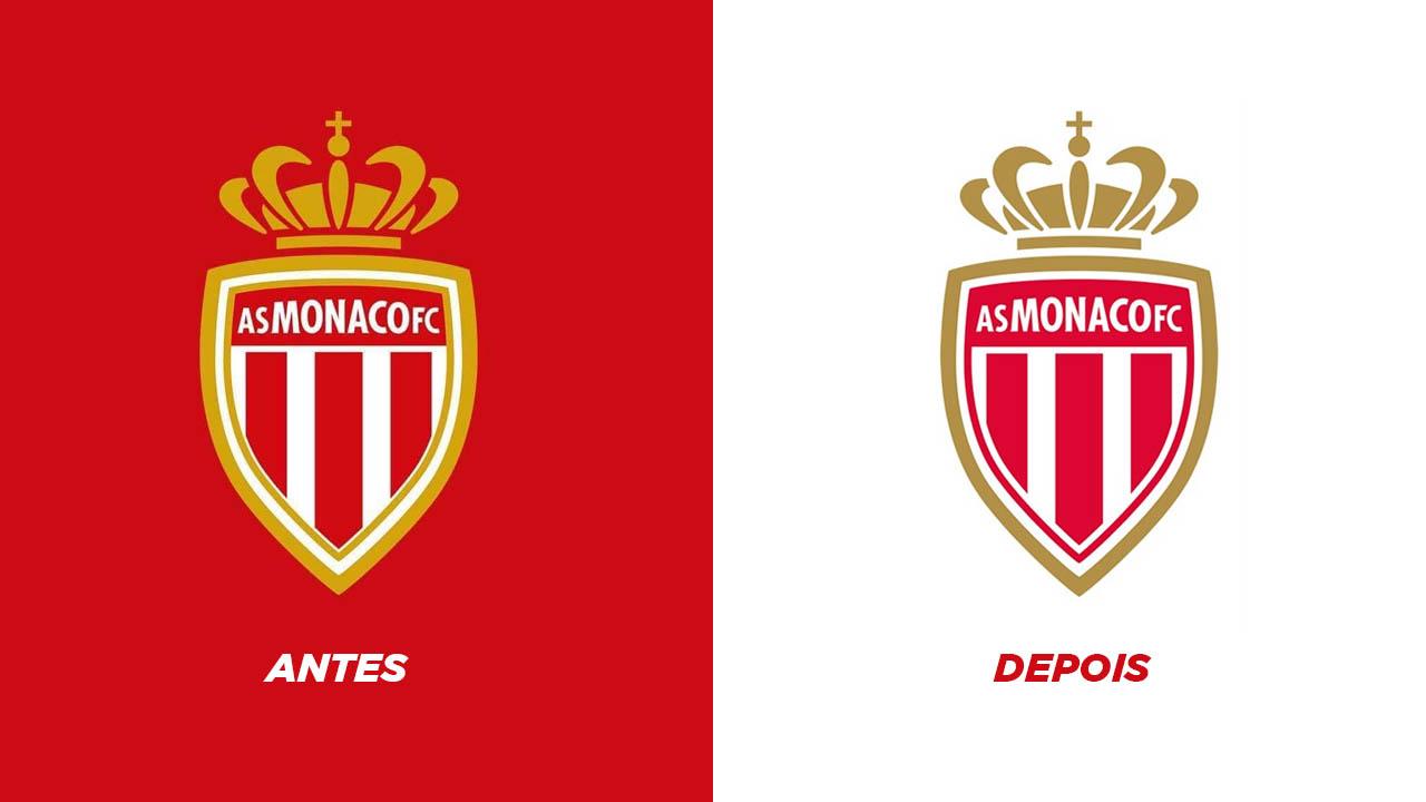 AS Monaco escudos antes depois