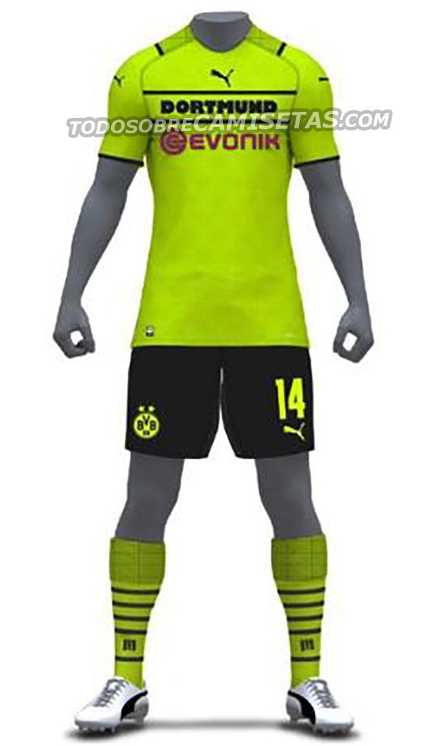 BVB 2021-2022 PUMA Camisa 3