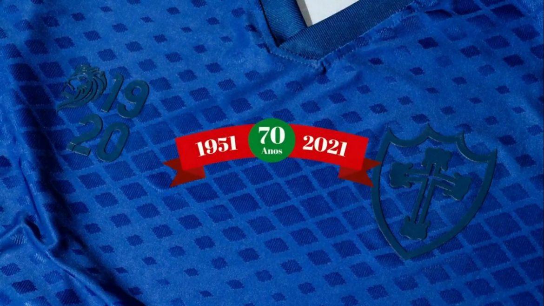 Camisa Fita Azul da Portuguesa 2021 1920