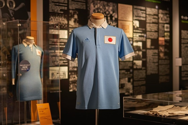 Camisa dos 100 anos da Seleção do Japão 2021 Adidas