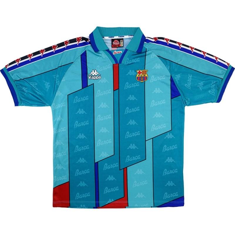 Camisa pré-jogo do Barcelona 2021-2022 Nike