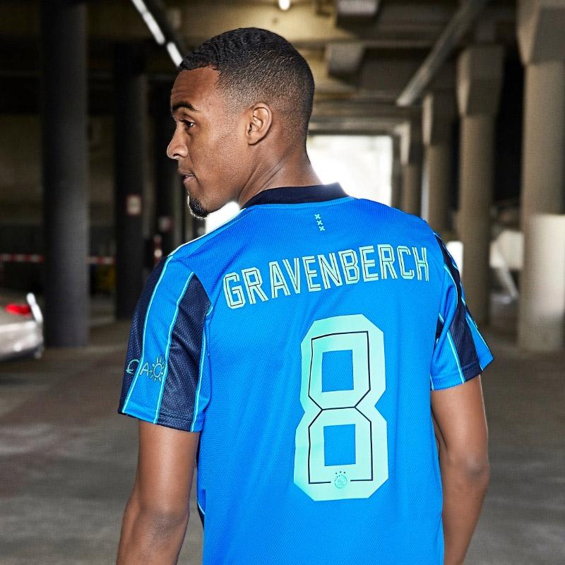 Camisa reserva do Ajax 2021-2022 Adidas
