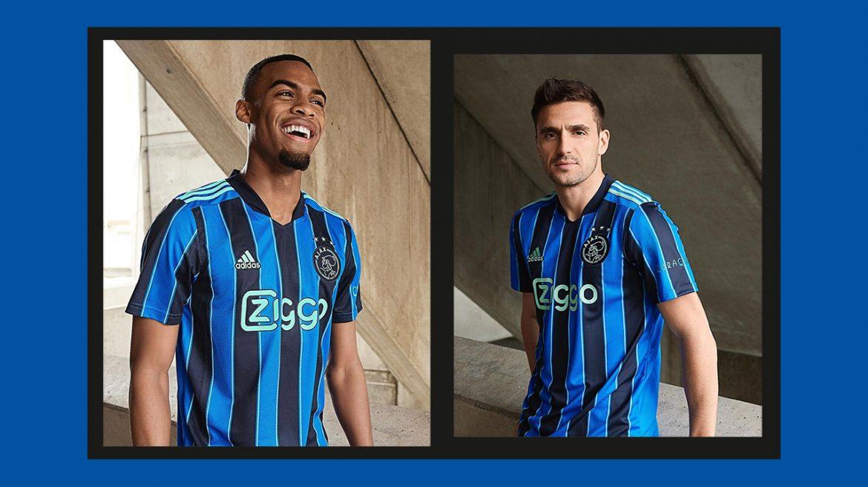Camisa reserva do Ajax 2021-2022 Adidas a