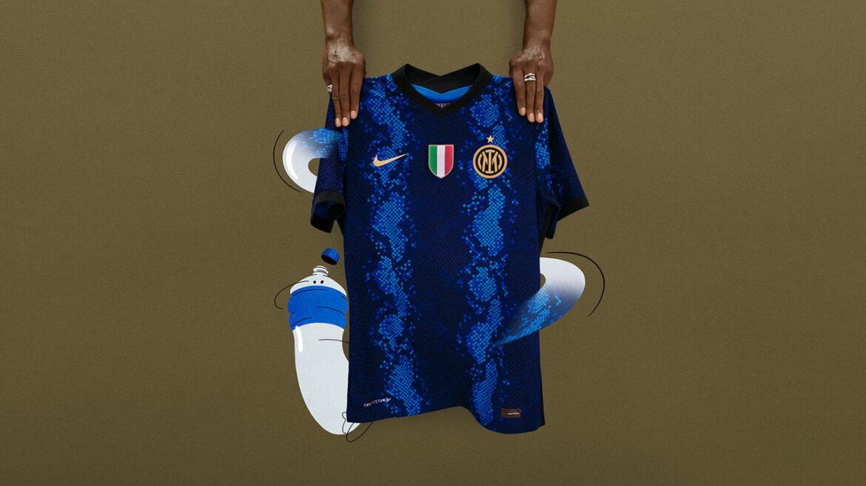 Camisas da Inter de Milão 2021-2022 Nike a