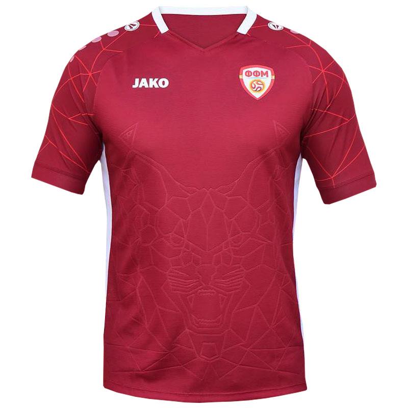 Camisas da Macedônia do Norte 2021-2022 Jako