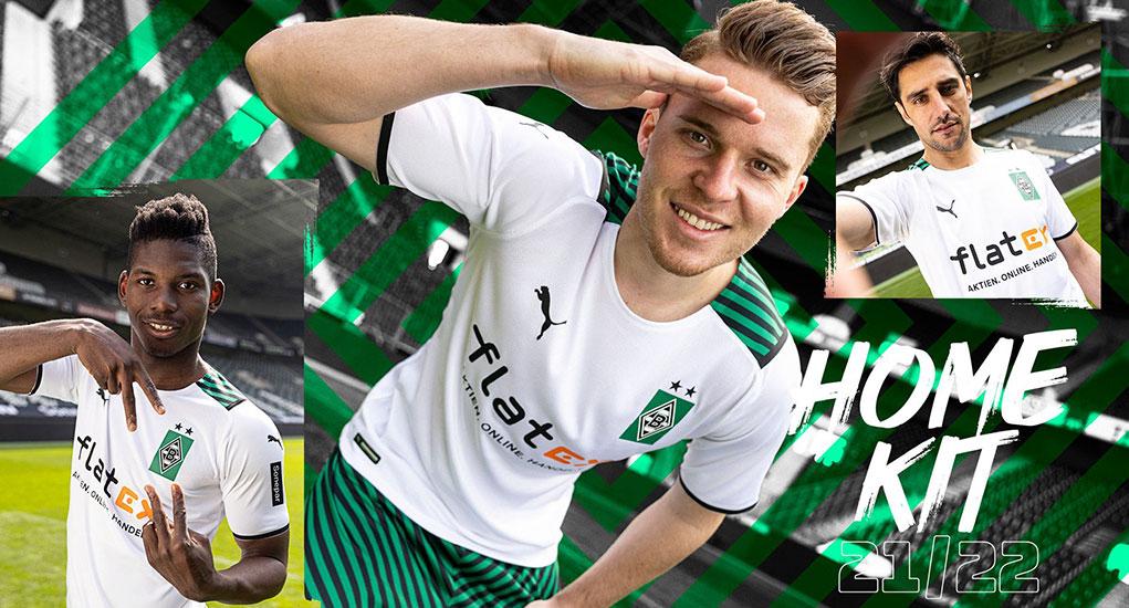 Camisas do Borussia Mönchengladbach 2021-2022 PUMA