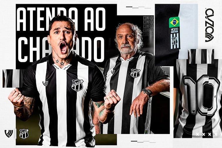Camisas do Ceará SC 2021 Vozão