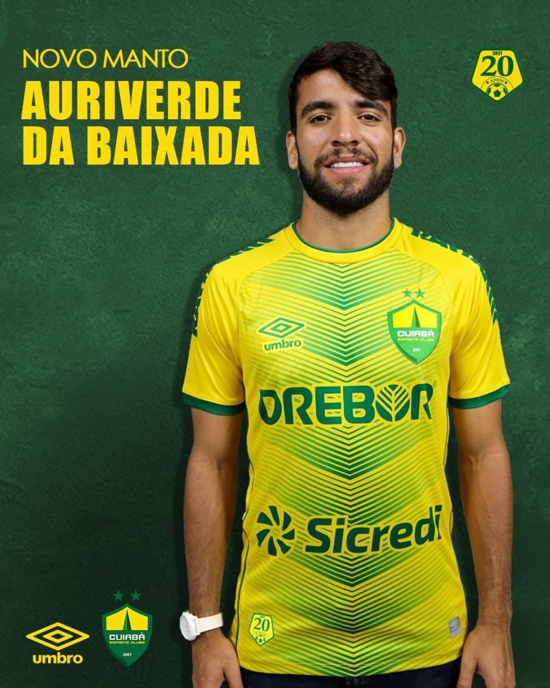 Camisas do Cuiabá EC 2021-2022 Umbro