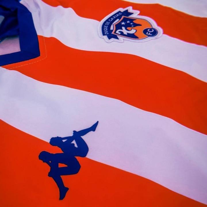 Camisas do Duque de Caxias 2021 Kappa