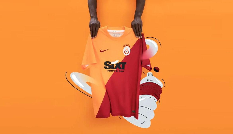 Camisas do Galatasaray 2021-2022 Nike a