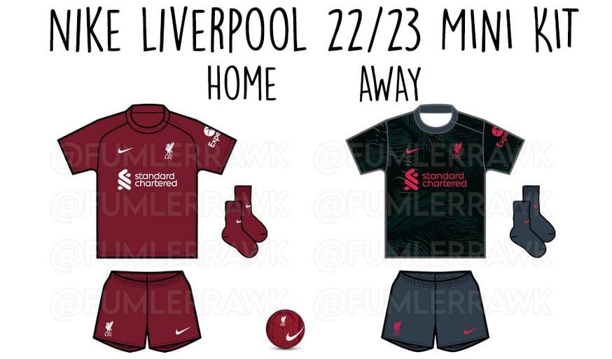 Camisas do Liverpool FC 2022-2023 Nike
