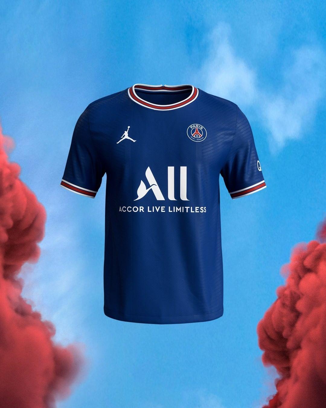 Camisas do PSG 2021-2022 Nike