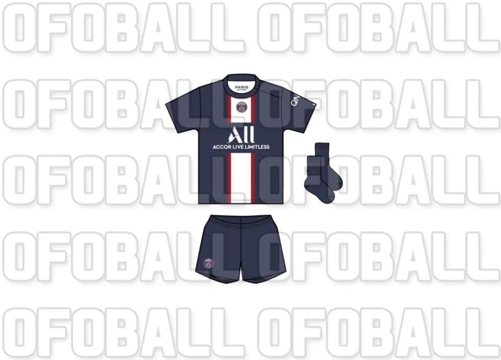 Camisas do PSG 2022-2023 Nike