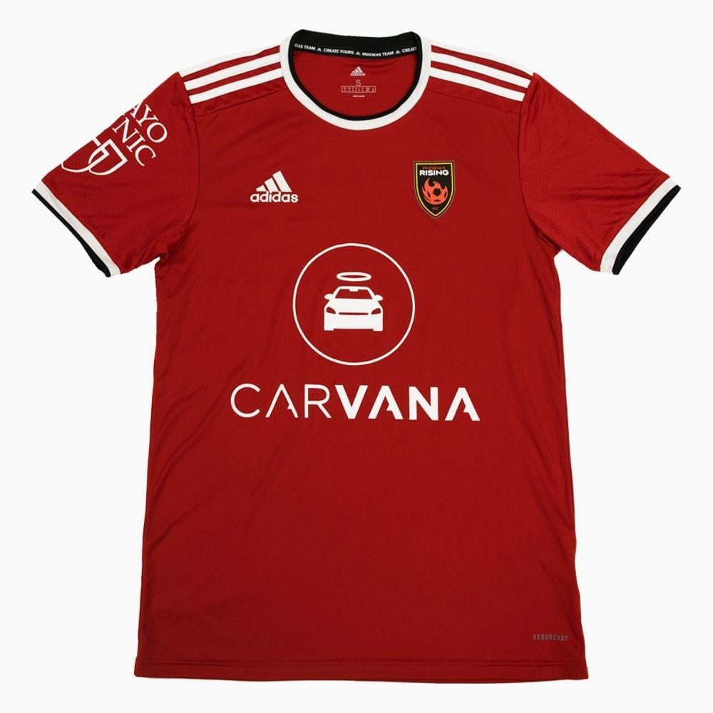 Camisas do Phoenix Rising 2021 Adidas