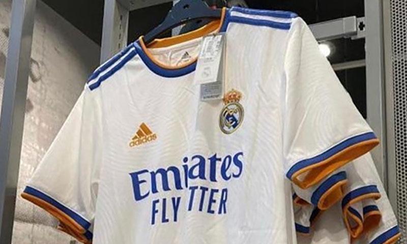 Camisas do Real Madrid 2021-2022 Adidas a